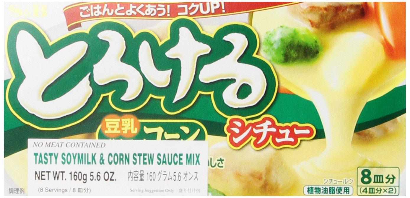 S&B Tasty Stew Mix Soymilk and Corn, 5.6-Ounce