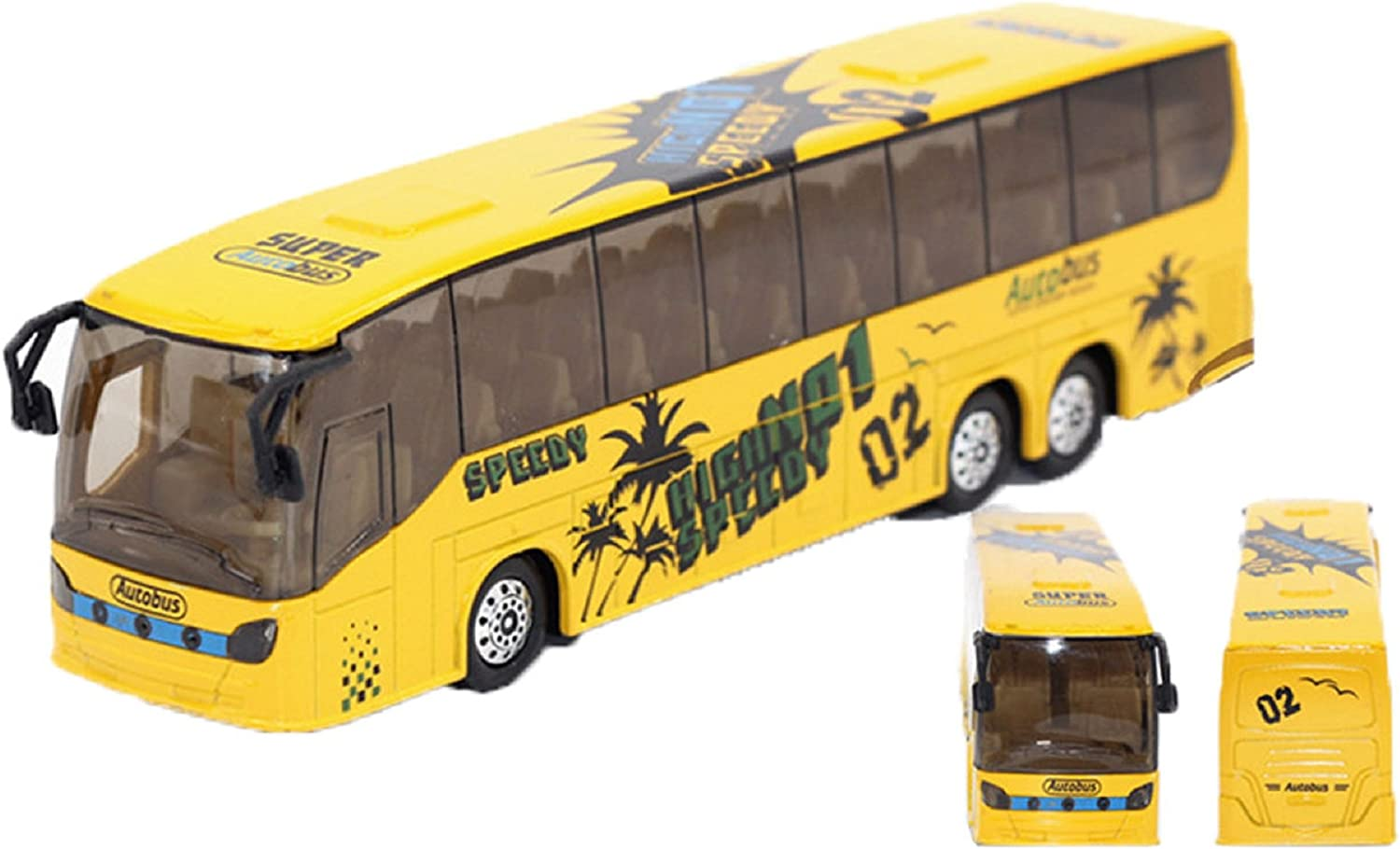 Teamsterz City Coach Bus Toy model Vehicle Ride a City coach 1:50 Scale UK Stock