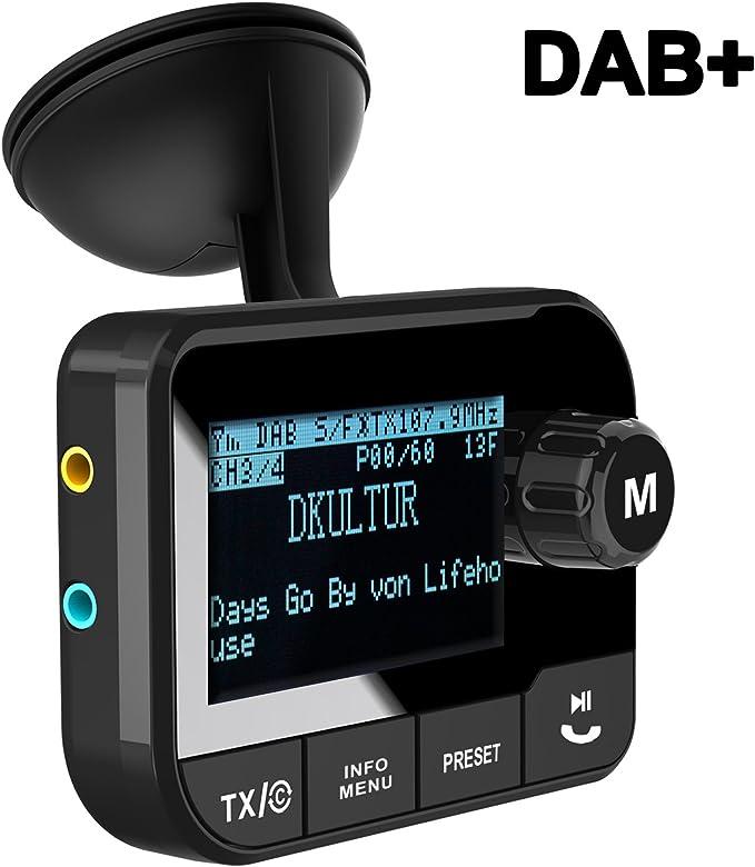 Bluetooth FM Transmitter Hands-free Car-Kit Radio Receiver MP3 Audio Adapter USA