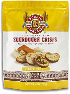 product image for San Francisco Boudin Bakery Sourdough Crisps-Three Cheese