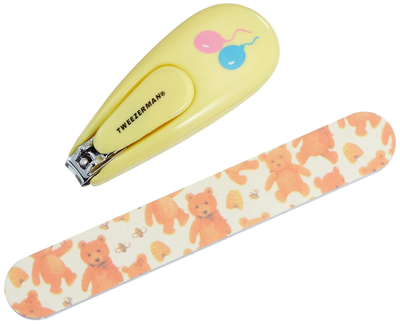Tweezerman Baby Nail Clipper With Bear File Tweezerman International 3065-R