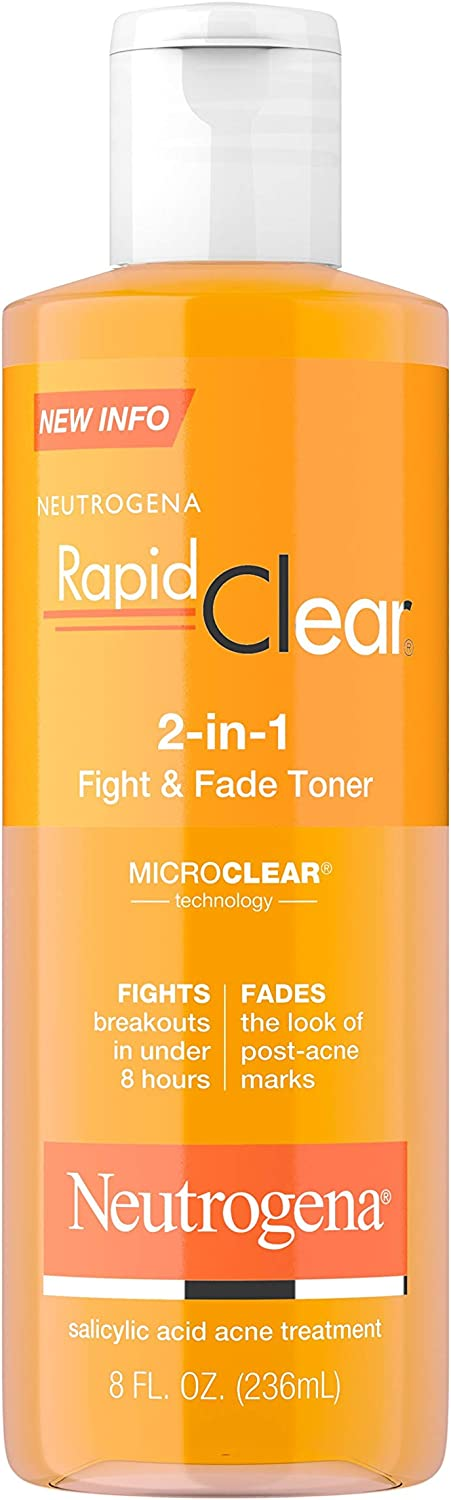 Neutrogena Rapid Clear 2-In-1 Fight & Fade Acne Toner
