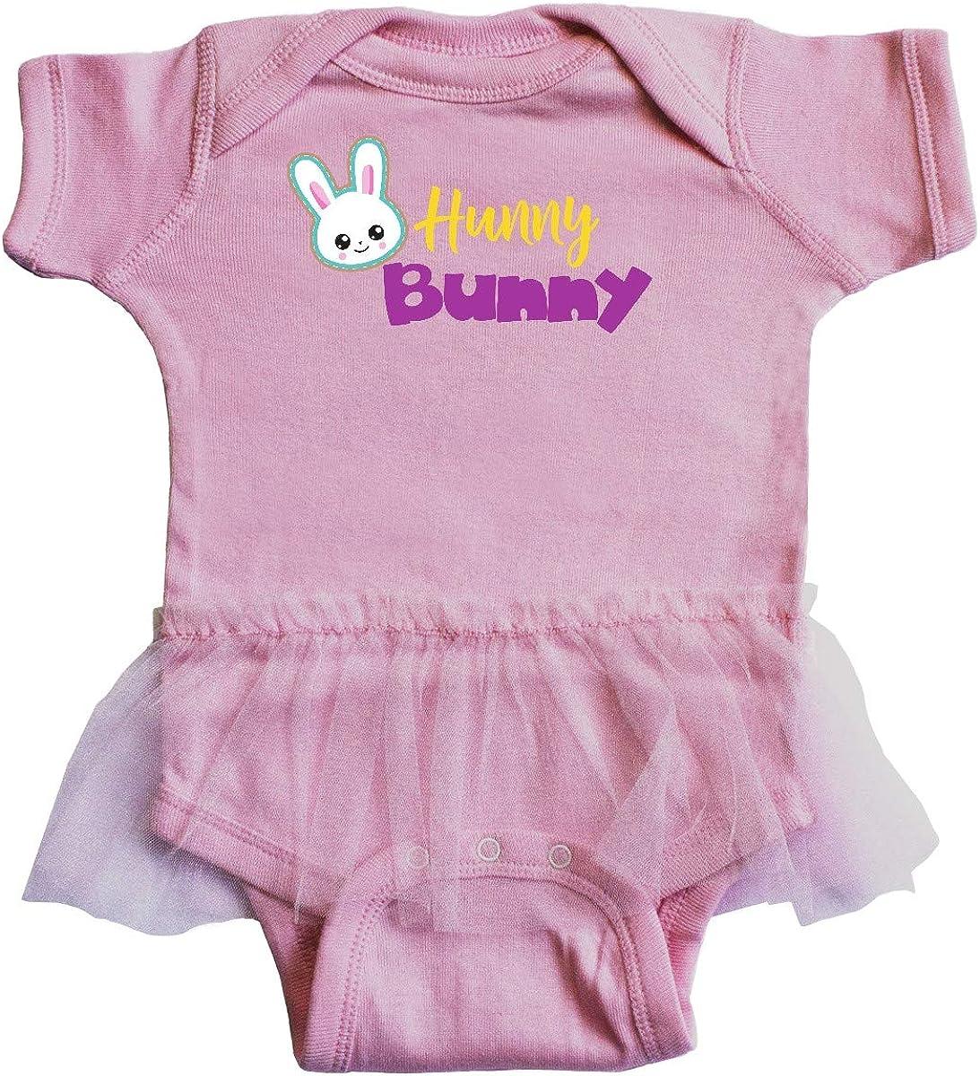 Rabbit Infant Tutu Bodysuit inktastic Hunny Bunny Easter Bunny White Bunny