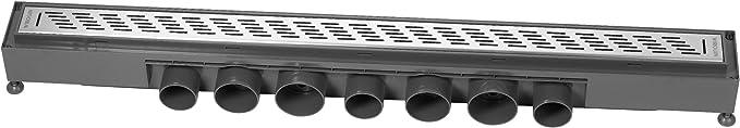 Wirquin 30719771 Express 900mm Grille Gouttes deau Gris//Chrom/ée