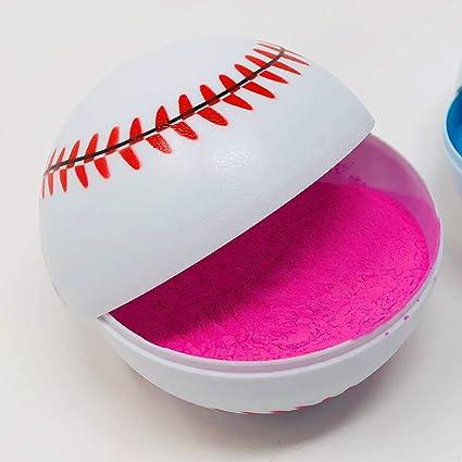 Pink Gender Reveal Baseball
