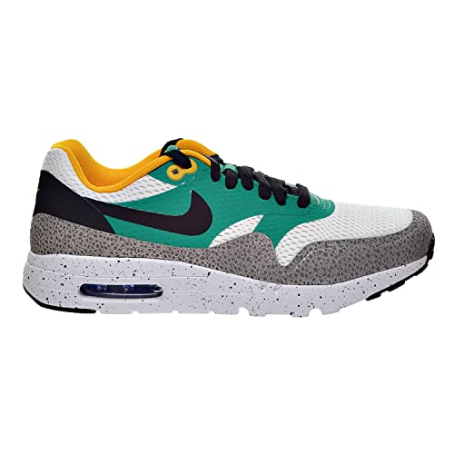 sports shoes 0b7a3 5a981 Nike Air Max 1 Ultra Essential Men s Shoe White Black Emerald Green Reflect