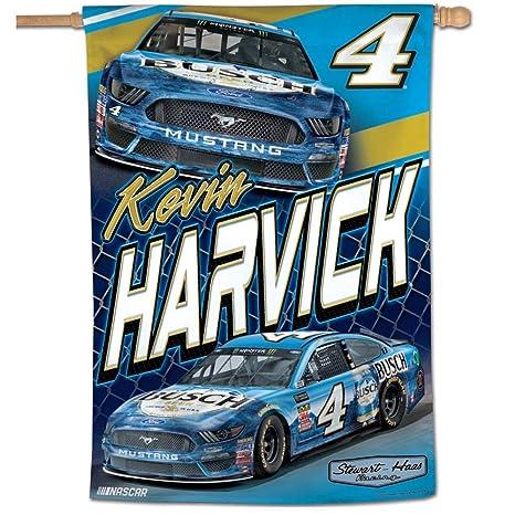 Win-craft Kevin Harvick 2019 Busch Vertical NASCAR Flag