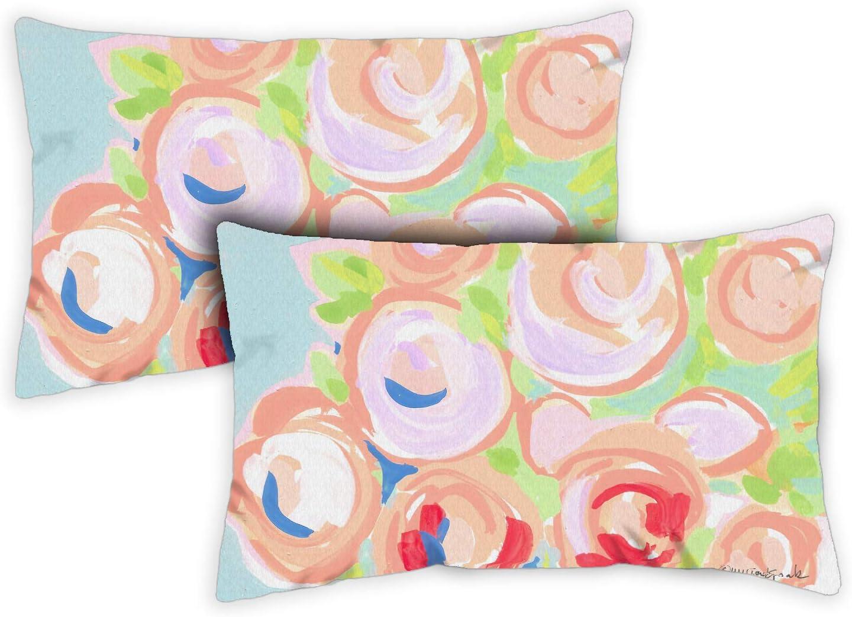 Toland Home Garden 771285 Happy Harvest 12 x 19 Inch Indoor//Outdoor Case Pillow 2-Pack