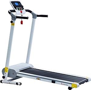Sunny Health & Fitness Easy Assembly Motorized Walking Treadmill,