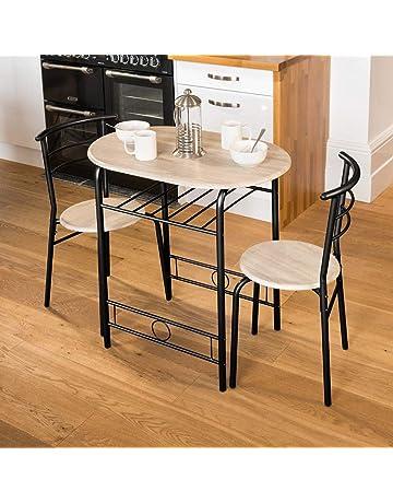 Enjoyable Dining Table Sets Shop Amazon Uk Home Interior And Landscaping Palasignezvosmurscom