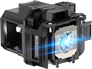 AWO Premium Replacement Projector Lamp Bulb with Housing Fit for EPSON ELPLP88 / V13H010L88 Powerlite 1262W 955W 965 97 98 99W S17 S27 W17 W29 W21 X21 X27 VS330,EB-W28 EX3220 EX5230 EX7220 H568A