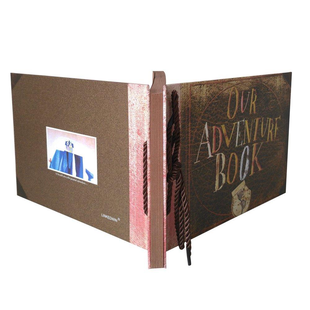 linkedwin Nuestra Aventura Book DIY Scrapbooking///álbum de fotos