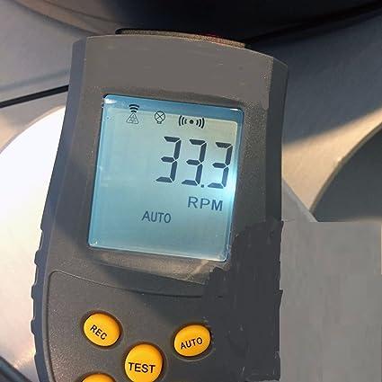 Amazon.com: LP láser cuarzo Medidor de velocidad para ...
