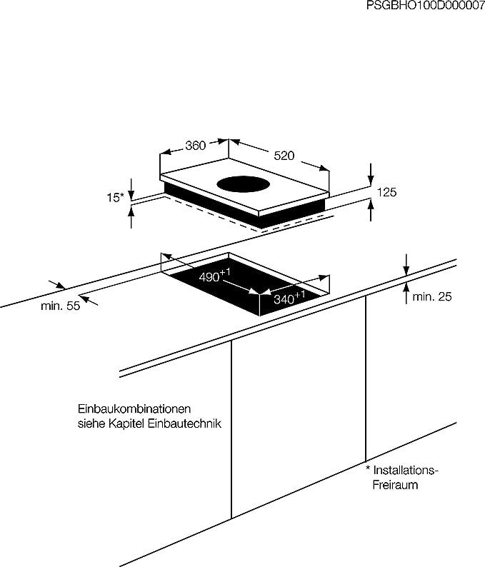 AEG - Vitrocerámica Modular Induccion Indep. Hc451500Eb ...