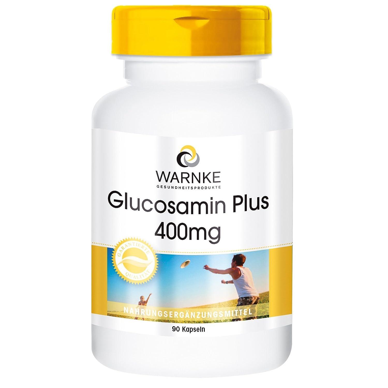Glucosamina Plus con colágeno 400mg - Warnke Vitalstoffe - 90 cápsulas: Amazon.es: Salud y cuidado personal
