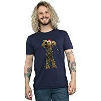 Star Wars Men's Chewbacca Christmas Lights T-Shirt