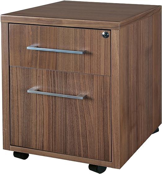 Regency Chest Drawers Walnut Filing Cabinet