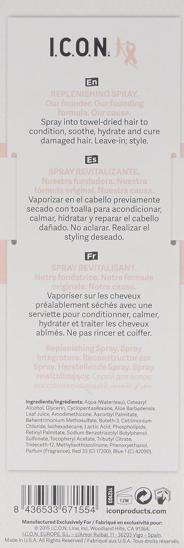 I.C.O.N. Cure By Chiara Spray Tratamiento Capilar - 250 ml: Amazon.es: Belleza