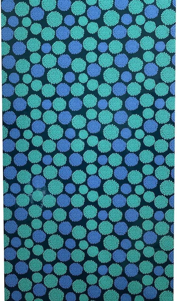 InstaLocker Locker Wall Paper Wallpaper - School Locker Decoration Decor Magnetic Static Cling, No Magnet Needed (Blue Mums)