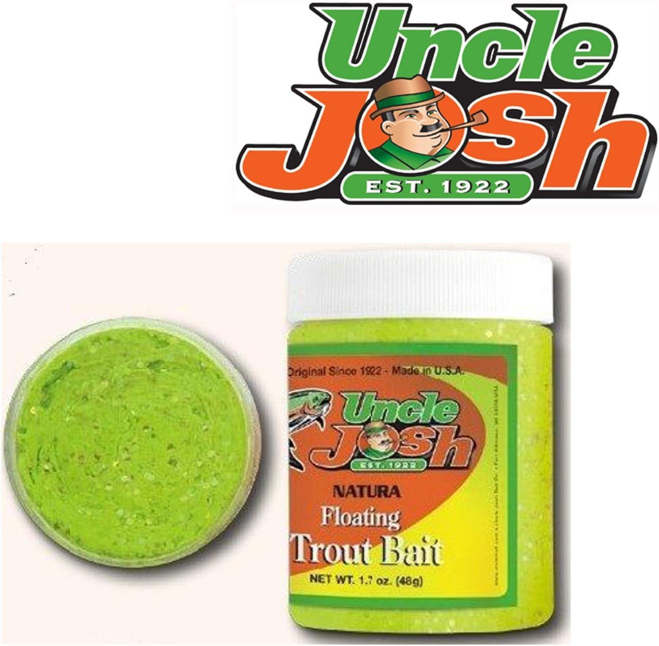 Forellenk/öder zum Forellenangeln am Forellensee Forellenpaste Uncle Josh Trout Bait Forellenteig 68g Angelteig