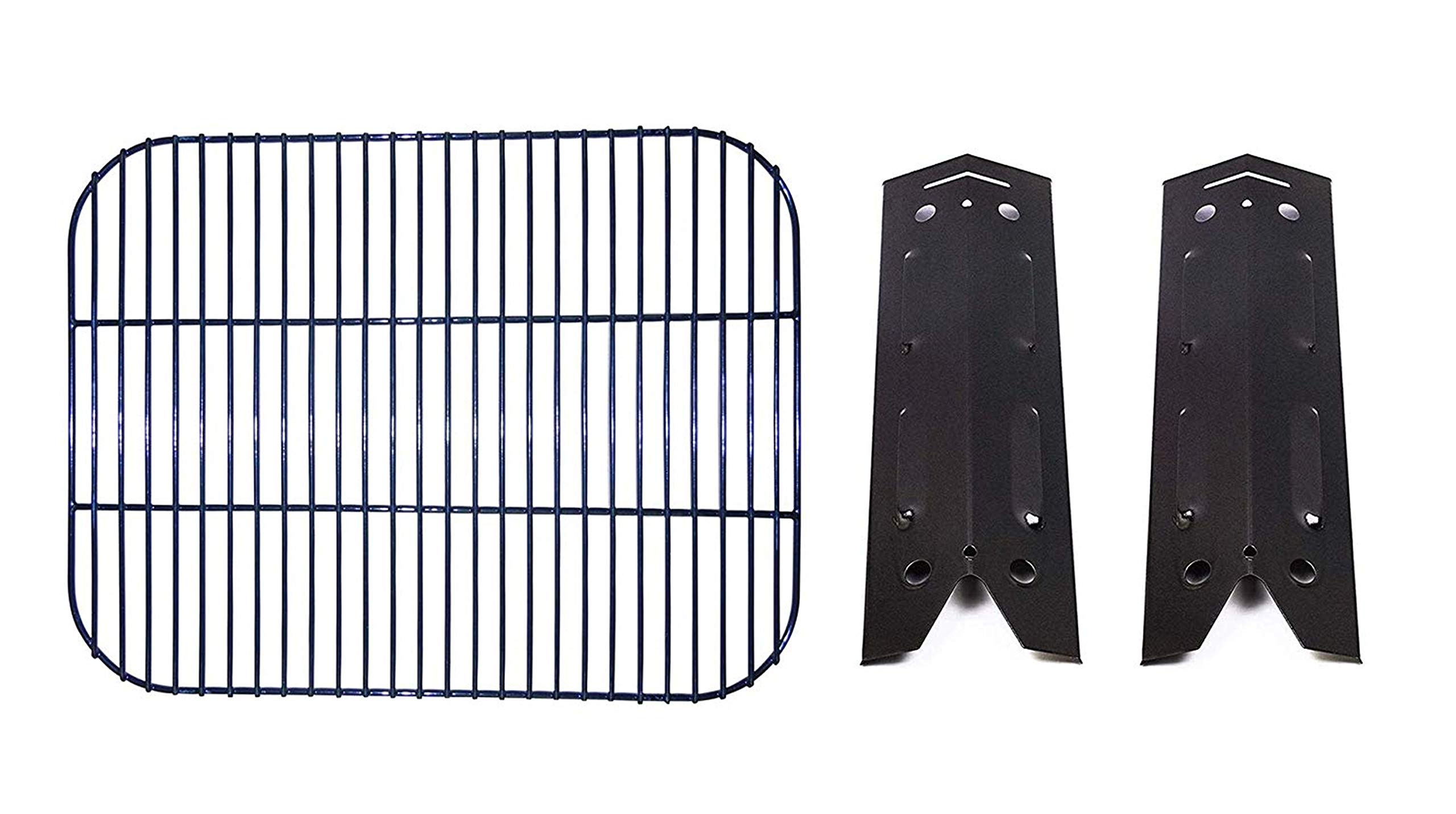 BBQration Repair Kit Parts Gas Grill Cooking Grid and Heat Plates Replacement for Brinkmann 810-4220-S by BBQration