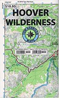Emigrant Wilderness Trail Map (Tom Harrison Maps): Tom Harrison ...