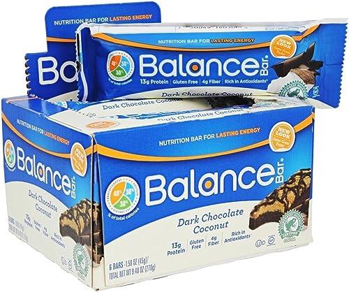 Balance Bar Cocnt Dk CHC Size 6ct Balance Bar Coconut Drk Choc 1.58z