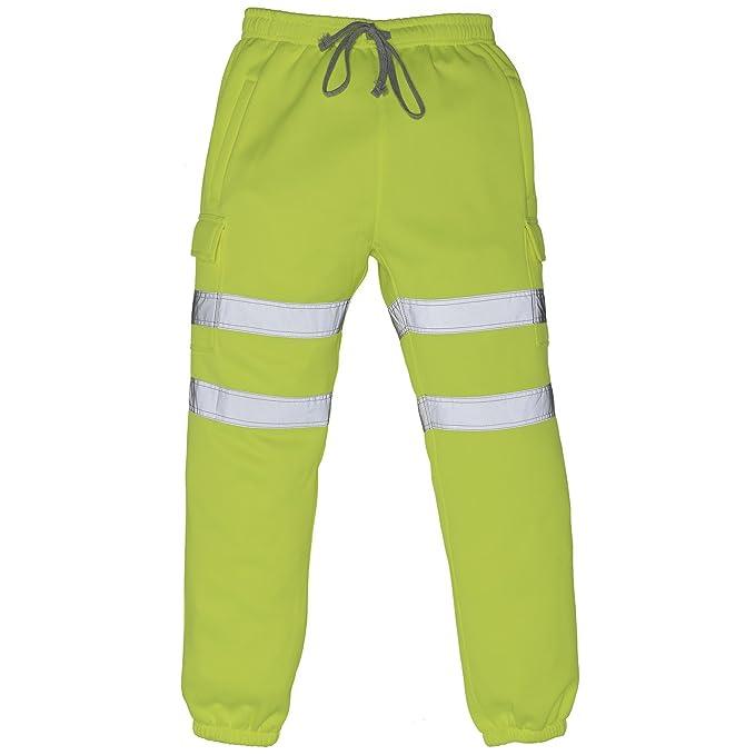 Yoko - Pantalones de Trabajo de Tipo chándal Reflectantes de Alta ...
