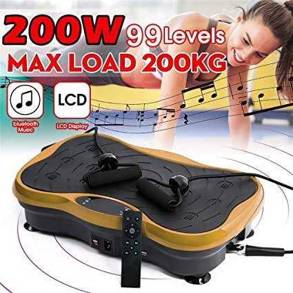 LifePro Waver Vibration Plate Exercise Machine Home Training Equipment for Weight Loss /& Toning Whole Body Workout Vibration Fitness Platform w//Loop Bands