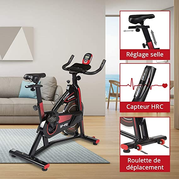 CareFitness Spibike SP-490 Bicicleta Interior Recta - Bicicleta ...