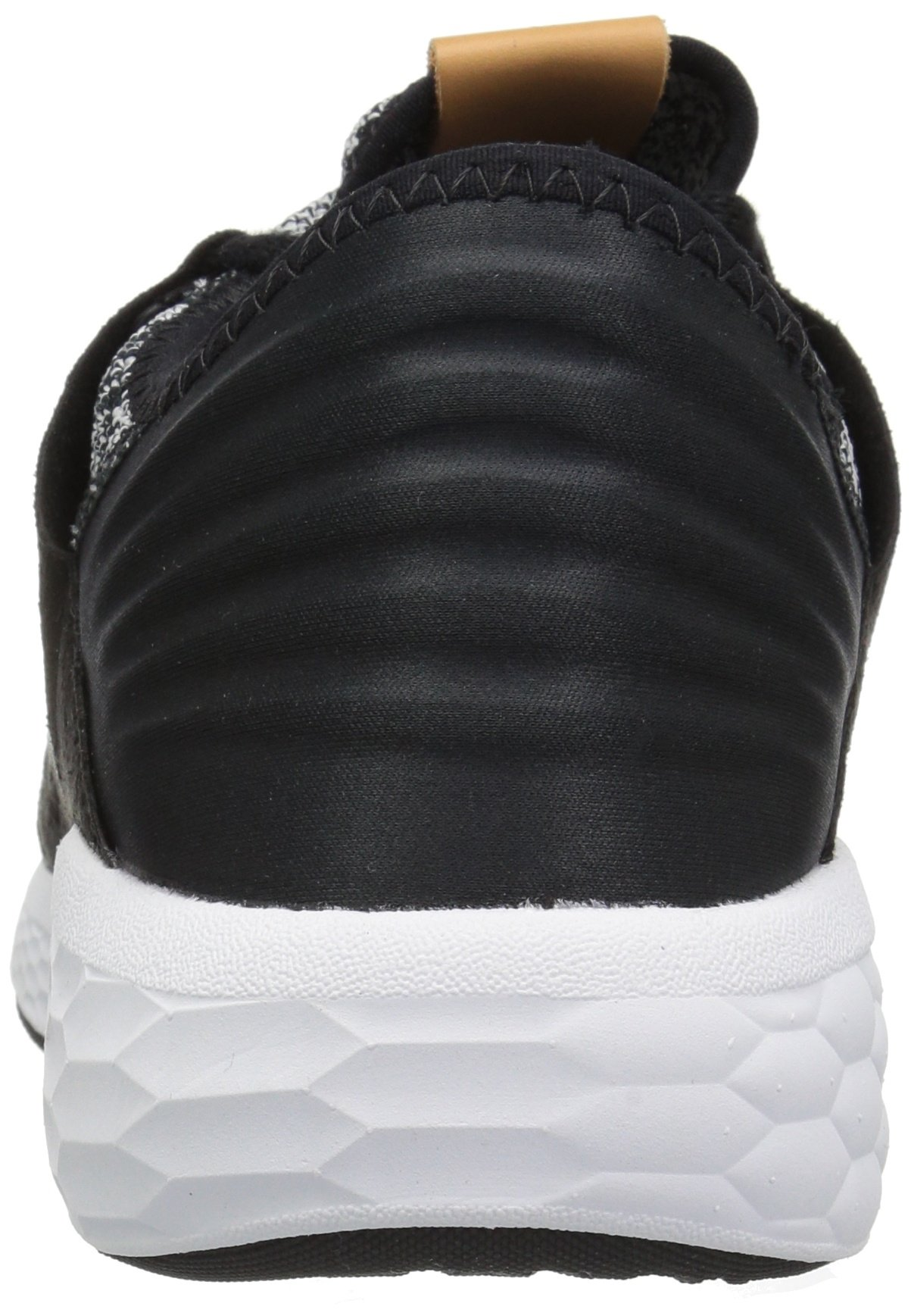 New Balance Men's Cruz V2 Fresh Foam Running Shoe, white/black, 7 D US by New Balance (Image #2)
