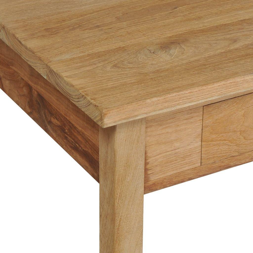 Festnight Tavolino in Legno Massello di Teak da Caffe 100x60x35 cm