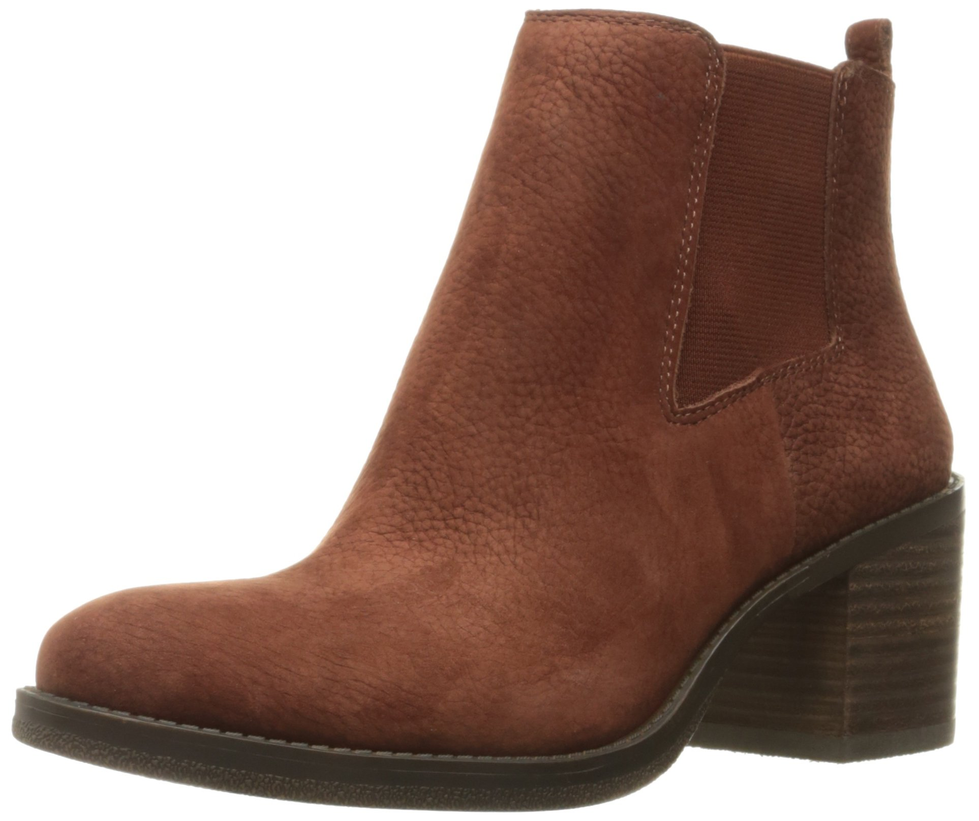 Lucky Brand Women's Ralley Ankle Bootie, Russet, 8 M US