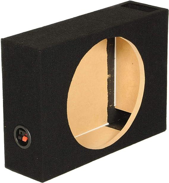 Qpower Single - Caja de woofer con ventilación superficial de 10 pulgadas: Amazon.es: Electrónica