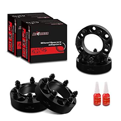 "Richeer Wheel Spacers 6x5.5 for Toyota Tacoma 4Runner Tundra FJ Cruiser Isuzu Lexus,1.5"" Forged Spacer 6x139.7, 12x1.5 Studs& 106mm Center Bore: Automotive"