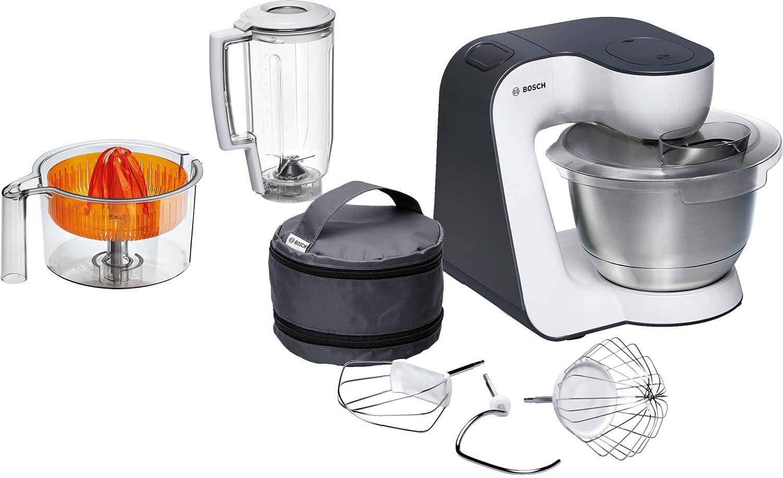Bosch MUM5 Start Line universal 800W 3.9L Naranja, Plata, Transparente, Color blanco - Robot de cocina (3,9 L, Naranja, Plata, Transparente, Blanco, ...
