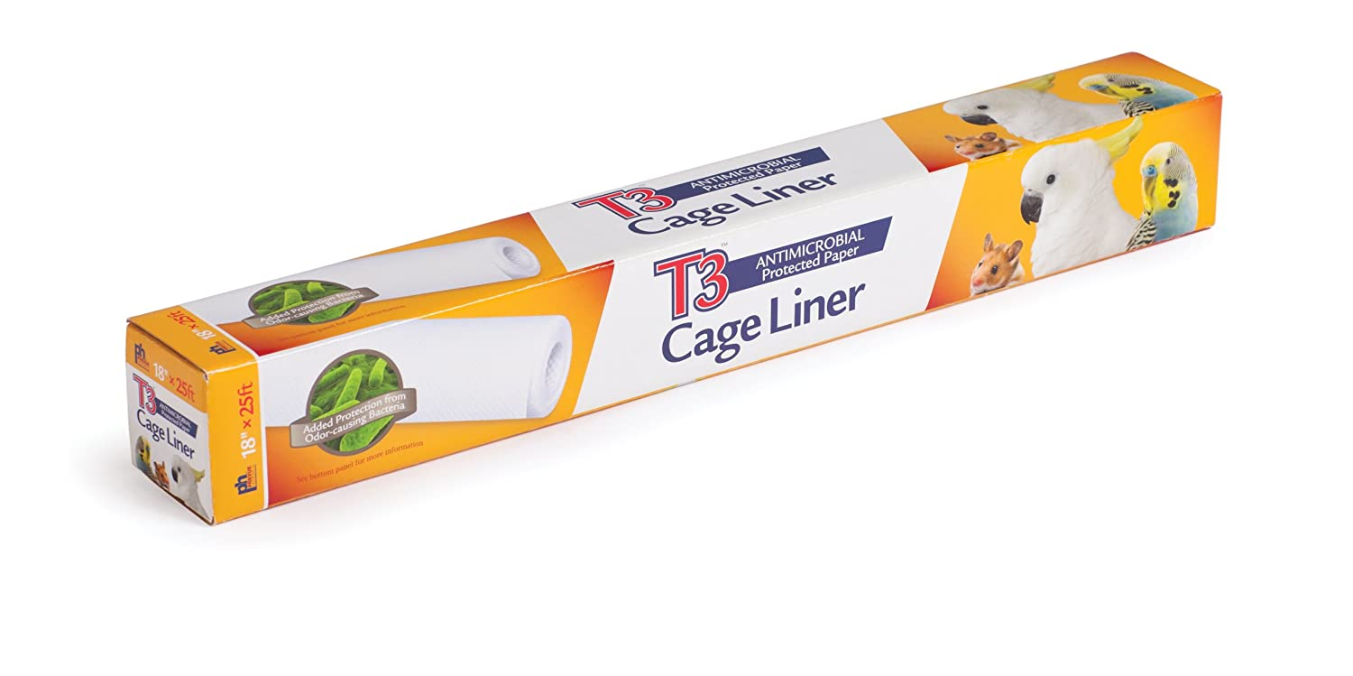 Prevue Pet Products T3 Antimicrobial Cage Liner