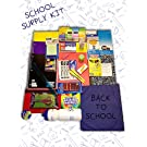 School Supply Kits with Butterfly Backpack
