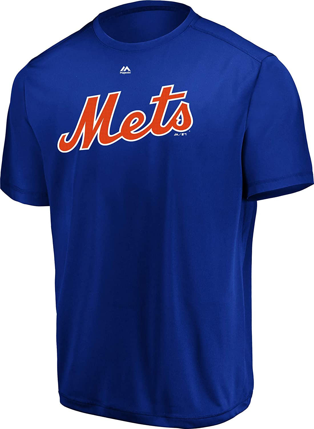 Majestic New York Mets Cool-Base Wicking Licensed Replica Jersey Tee (10 Youth/Adult Sizes)