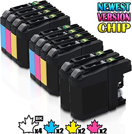 High Yield LC203 XL Ink Cartridge for Brother MFC-J680DW MFC-J4620DW MFC-J5620DW