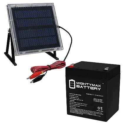 Amazon.com: 12 V 5 Ah sustituye a la batería Power Sonic ...