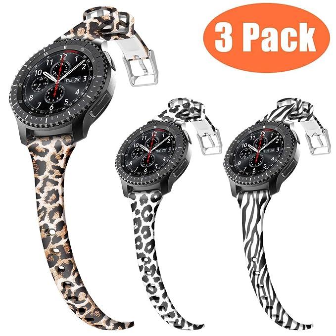 Correa de Reloj de Silicona para Mujer Gear S3 ...