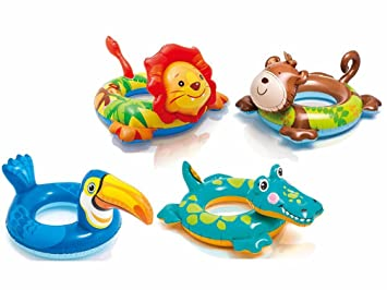 Intex Monkey Inflatable Swimming Pool Rubber Ring Float  Tube