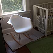 Amazon Com Baxton Studio Letterio White Cradle Chair