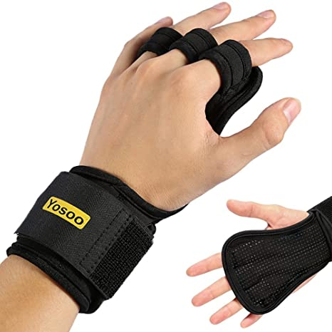 Fitness Gloves Fitness & Body Building Special Section New Wrist Grips Palm Protectors Hand Guards Weight Lifting Barbell Fitness Glove Comfortable Feel
