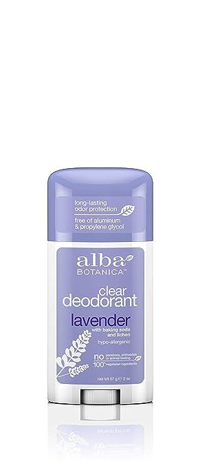 Amazon.com: Alba Botanica transparente enzima Desodorante de ...