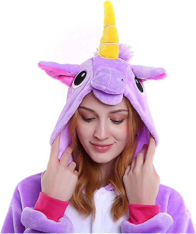 MJTP Unicorno Pigiama Unicorno Costumi Evento Dress Festival per Adulti e Bambini