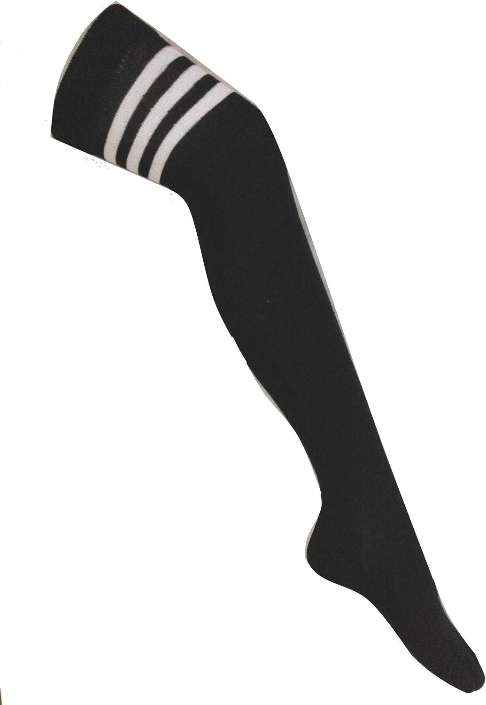 Crazy Chick - Calcetines altos de árbitro para mujer (modelo para ...