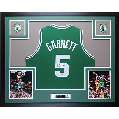 info for 6d3f2 16445 Kevin Garnett Autographed Green Celtics Jersey - Beautifully ...