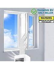 400CM Joint de Fenêtre pour La Climatisation Mobile, Fonctionne avec Toutes Les Unités De Climatisation Mobiles et Sèche-Linge, Arrêt d'air Chaud, Installation Facile - Pas Besoin de Trous de Forage